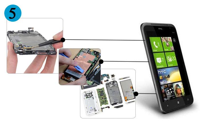 HTC手机维修技术培训